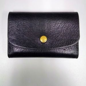 Fossil leather card holder